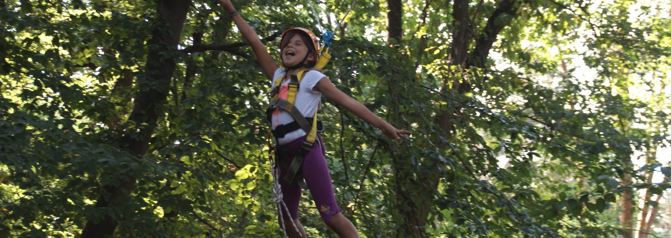 Inklusive Abenteuer- und Erlebnissporttage mit Seilkonstruktioen 2020